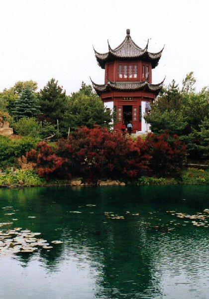 Mon voyage au canada jardin botanique for Botanique jardin montreal